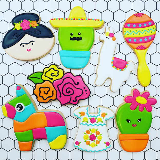 Cinco de Mayo Cookie Decorating Class 2019