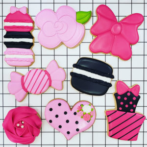 Pretty in Pink Cookie Decorating Class 2019