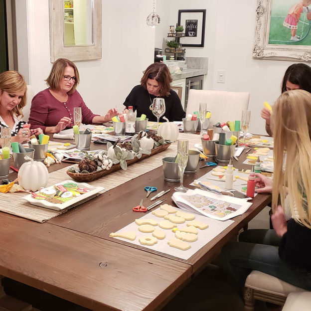 Private Cookie Decorating Parties in Orange County, CA