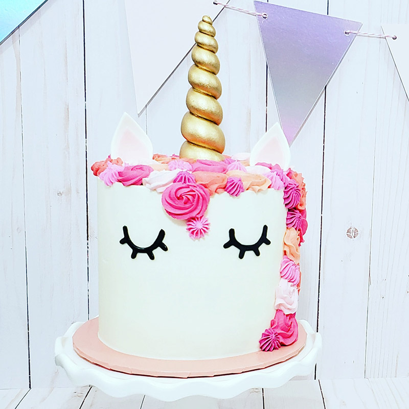 Unicorn Cake Decorating Class: Sunday, February 24, 2019 ...
