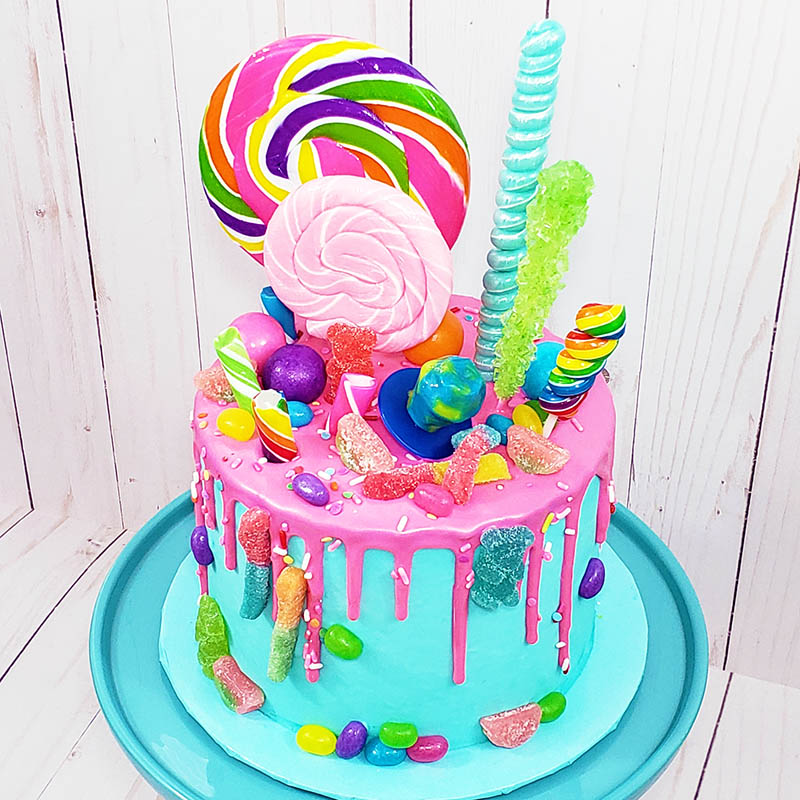 Groovy Candy Land Cake Decorating Class Sunday May 26 2019 12Pm Birthday Cards Printable Opercafe Filternl