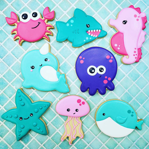 Under the Sea Cookie Decorating Class 2019