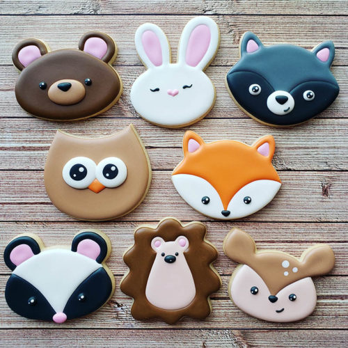 Woodland Creature Cookie Decorating Class Irvine Orange County CA