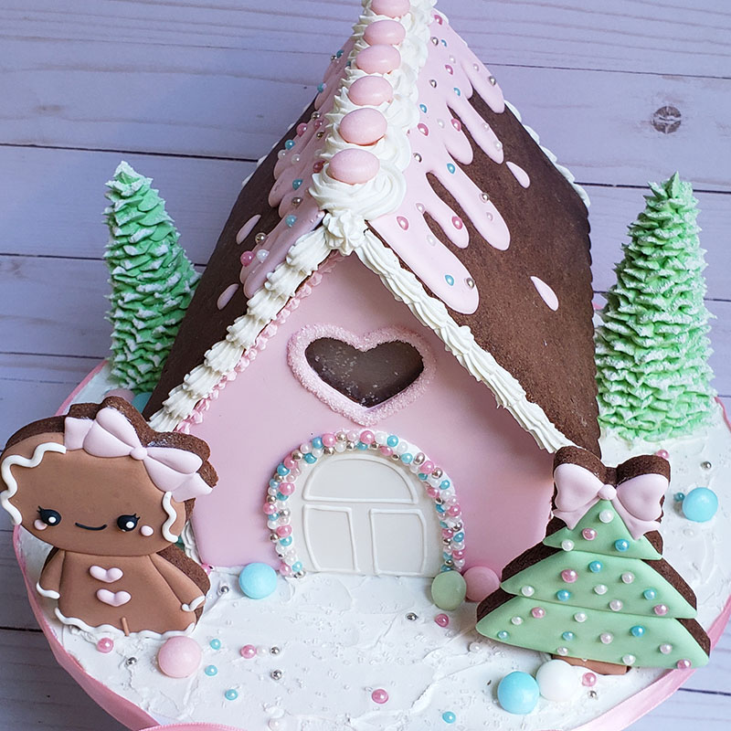 Christmas Gingerbread House.Christmas Gingerbread House Decorating Class Saturday December 7 2019 11am