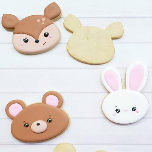 Woodland Creatures Cookie Decorating Kit