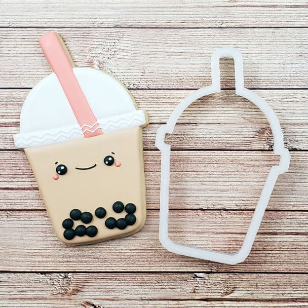 Boba Tea Cookie Cutter