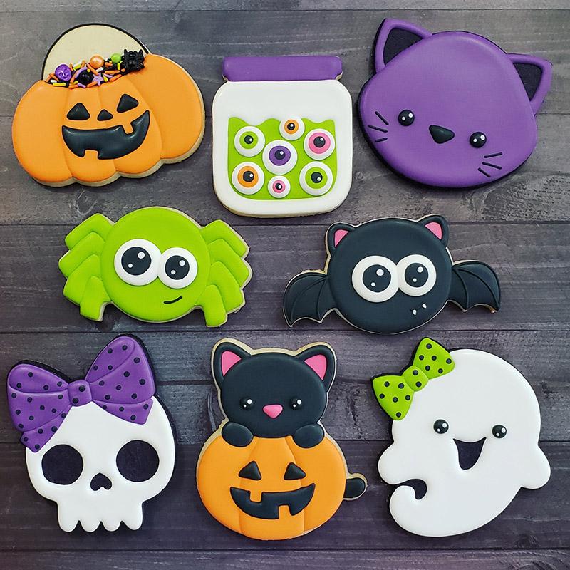 Halloween 11 2020 Halloween Cookie Decorating Class: Sunday, October 11, 2020, 9am
