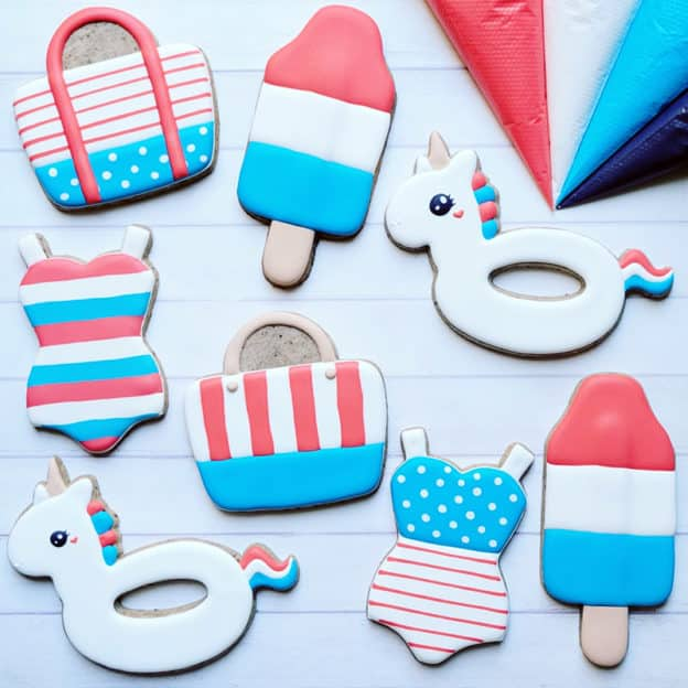 4th of July cookie kit